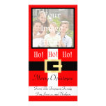 Ho ho ho Merry Christmas Santa Suit Photocard Photo Cards