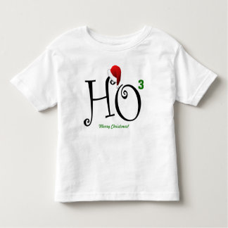 Ho Ho Ho Merry Christmas! Toddler T-Shirt