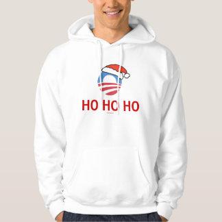 Ho Ho Ho Obama Hoodie