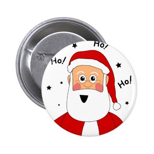 Ho! Ho! Ho! Santa Pins