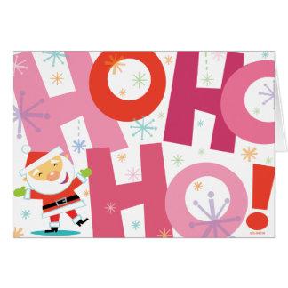 HO-ho-hO! Santa CARD