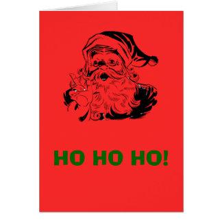 Ho ho ho! Santa Christmas Card