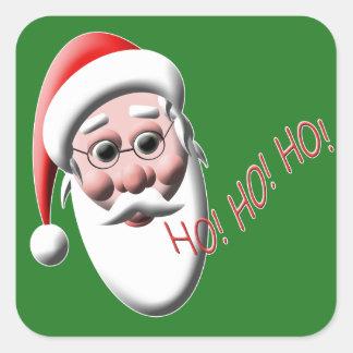 Ho!Ho!Ho! Santa Christmas Stickers