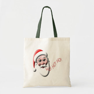 Ho!Ho!Ho! Santa Christmas Tote Bag