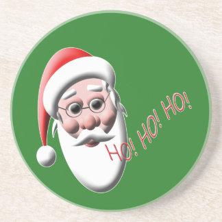 Ho!Ho!Ho! Santa Claus Christmas Coaster