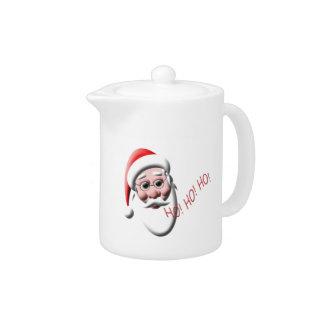 Ho!Ho!Ho! Santa Claus Christmas Teapot