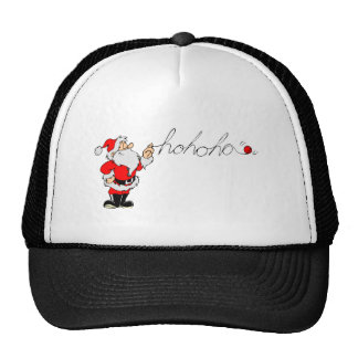 Ho Ho Ho Santa Mesh Hat