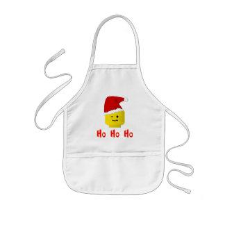 Ho Ho Ho Santa Minifig Head Apron
