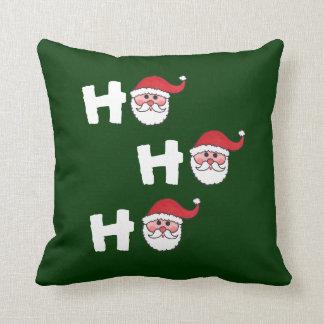 HO HO HO Santa - Pillow Throw Cushion