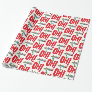 Ho Ho Ho Santa Wrapping Paper