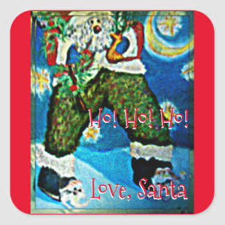 Ho! Ho! Ho! Square Sticker