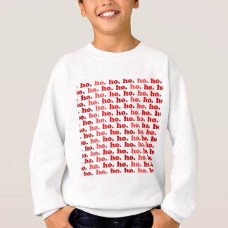 ho. ho. ho. sweatshirt