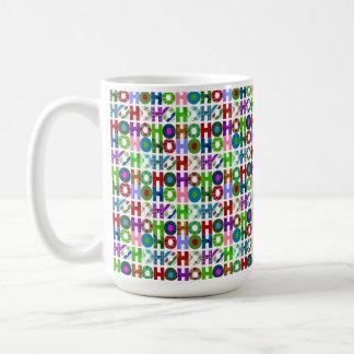 HO HO HO Typography Pattern Coffee Mug