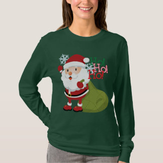 Ho-Ho-Ho Womens long sleved shirt