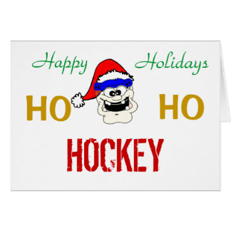 HO, HO, HOCKEY CARD