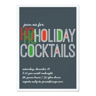 Ho Ho Holidays Invite