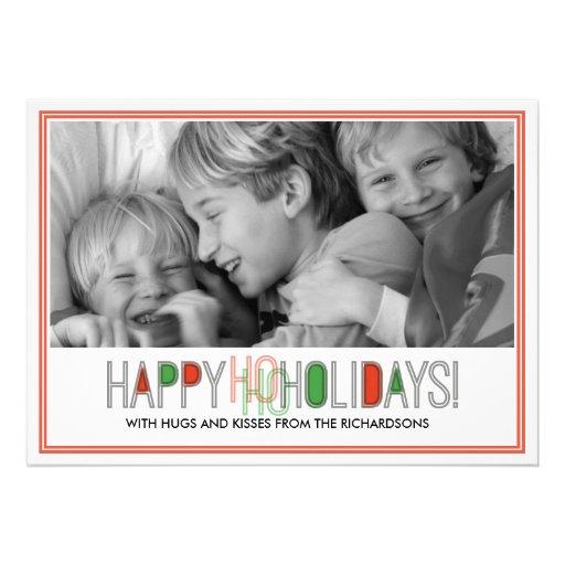 Ho Ho Holidays x1 Invitation