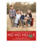 Ho Ho Home Holiday Moving Announcement Postcard