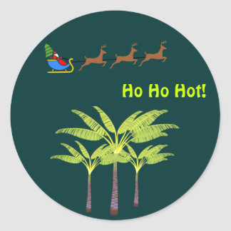 Ho Ho Hot Santa Sticker