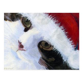 Ho Ho Kitty Cat Postcard