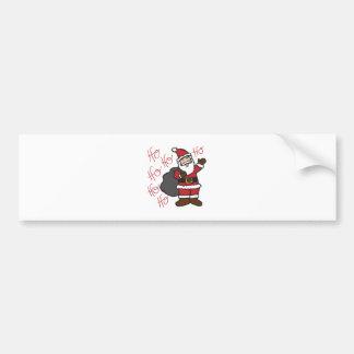 Ho Ho Santa Bumper Stickers