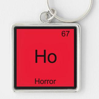Ho - Horror Funny Chemistry Element Symbol Tee Keychains