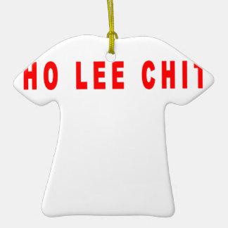ho lee chit shirt L.png Christmas Ornament