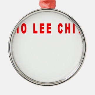 ho lee chit shirt L.png Silver-Colored Round Decoration