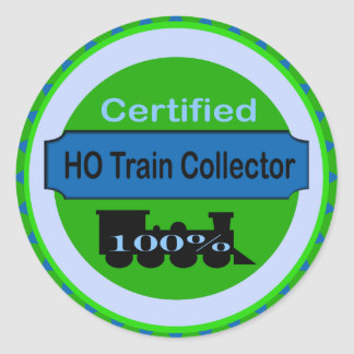 HO Train Collector Stickers