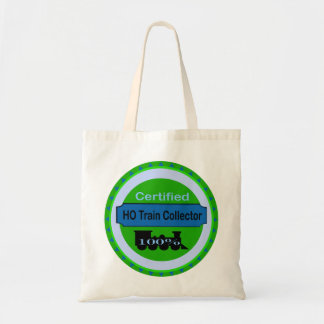 HO Train Collector Tote Bag