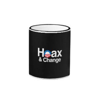 HOAX AND CHANGE COFFEE MUGS