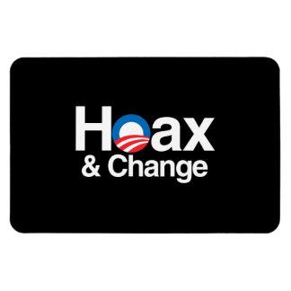 HOAX AND CHANGE VINYL MAGNET