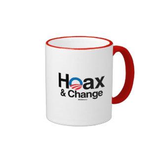 HOAX AND CHANGE RINGER MUG