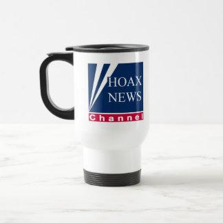 Hoax News Parody Travel Mug