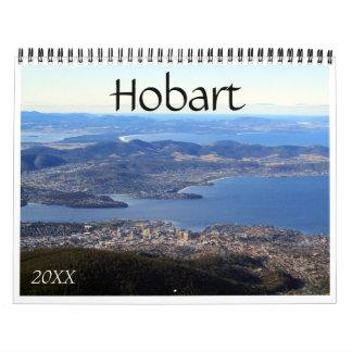 hobart wall calendar