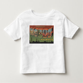 Hobbs, New Mexico - Large Letter Scenes 2 Toddler T-Shirt