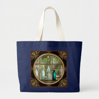 Hobby - Bottles - It's all about the glass Large Tote Bag