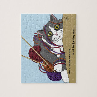 Hobby cat jigsaw puzzle