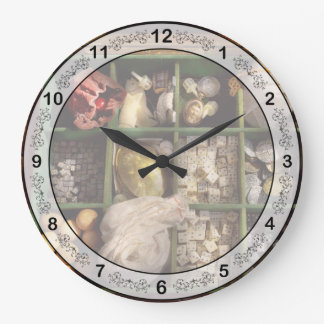 Hobby - Game - The bandit's game Large Clock