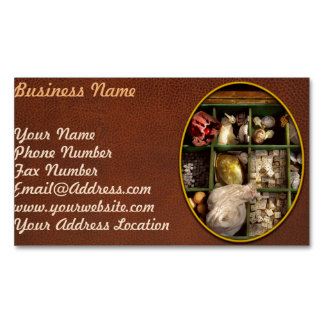 Hobby - Game - The bandit's game Magnetic Business Card