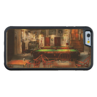 Hobby - Pool - The billiards club 1915 Carved Maple iPhone 6 Bumper Case