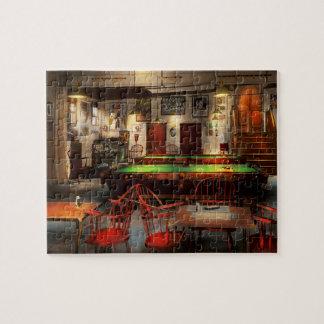 Hobby - Pool - The billiards club 1915 Jigsaw Puzzle