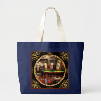 Hobby - Pool - The billiards club 1915 Large Tote Bag