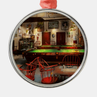 Hobby - Pool - The billiards club 1915 Metal Ornament