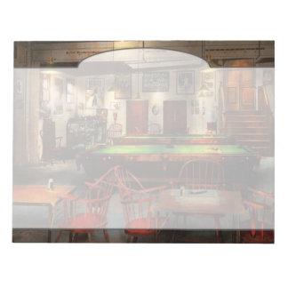Hobby - Pool - The billiards club 1915 Notepad