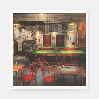 Hobby - Pool - The billiards club 1915 Paper Napkin