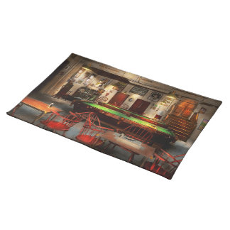 Hobby - Pool - The billiards club 1915 Placemat