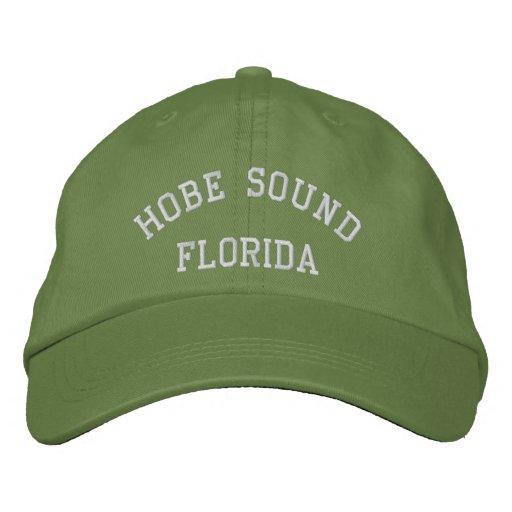 Hobe Sound, FLORIDA Embroidered Baseball Cap