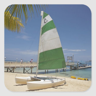 Hobie Cat, Plantation Island Resort Square Sticker
