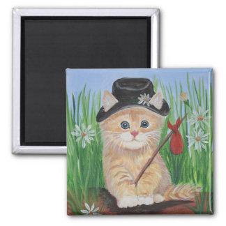 Hobo Cat Magnet